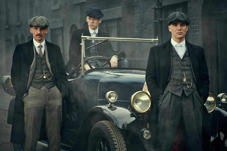 De izquierda a derecha (Arthur, John y Tommy)